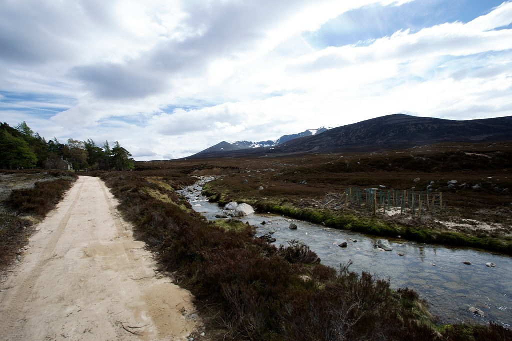 Gelder Water and Lochnagar