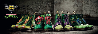 馬汀大夫 × 忍者龜 紀念聯名鞋款 Dr. Martens X Teenage Mutant Ninja Turtles