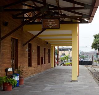Duran Station Platform