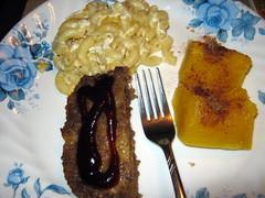 Meatloaf Dinner Plate.