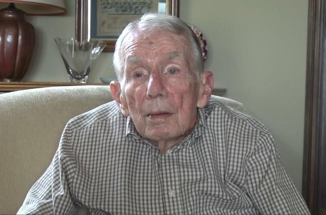 高齡90歲的羅森費爾德近照。照片提供:唐獎教育基金會。