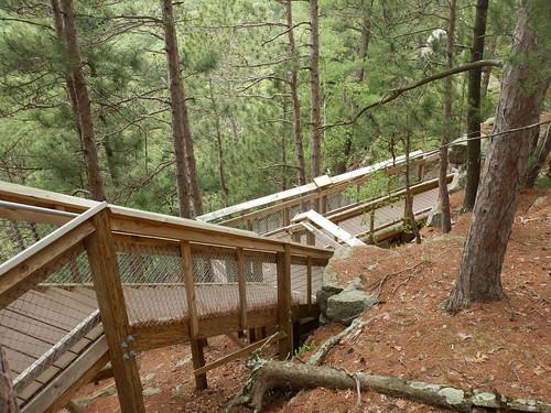 rocheacristatepark wisconsin rocheacri stairs