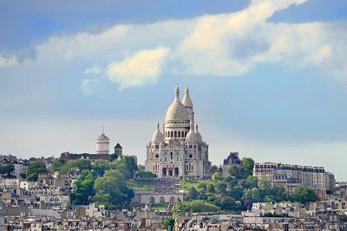 La basilique du Sacré Coeur de Montmartre (Paris)