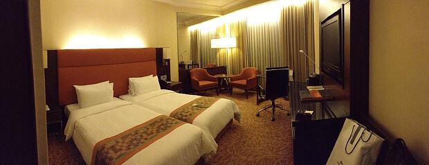 160616 Rembrandt Hotelの部屋