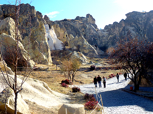 The area around Goreme in Cappadocia is famous for its underground cities, ancient religious art, and rock houses commonly known as fairy chimneys and provides travellers and tourists with amazing sights as well as unusual accommodation that will be remembered forever.
