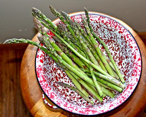 First Asparagus!