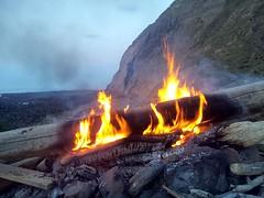 Landslip campings May 2013.