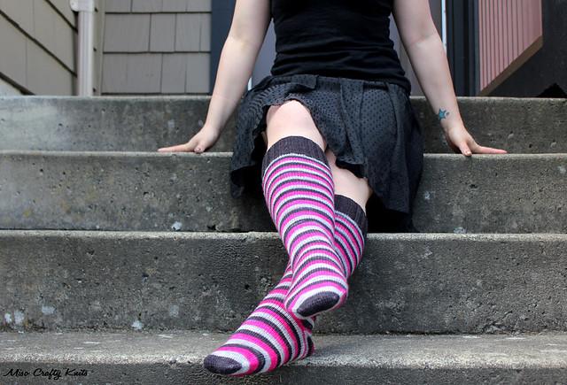 Domestic Badass Knee Socks 4