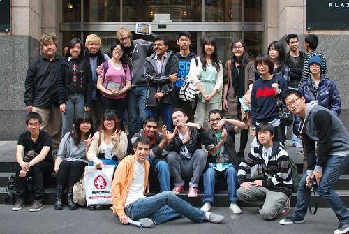 Anime@UTS outside Evangelion Art Exhibition