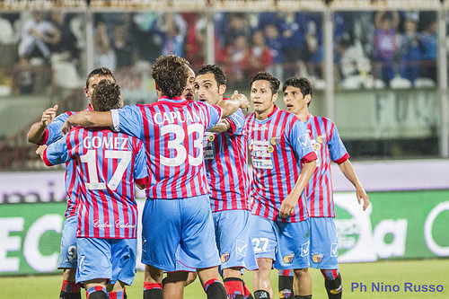 Catania-Pescara 1-0: festa e record al Massimino$