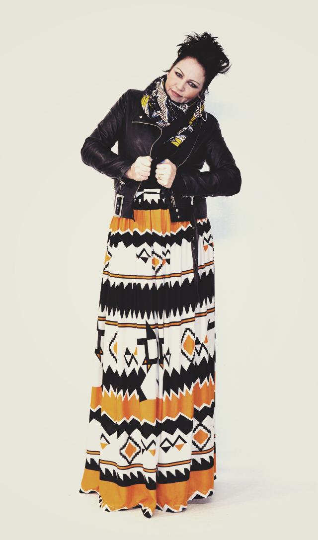 Kazzthespazz.com | Maxi Skirt
