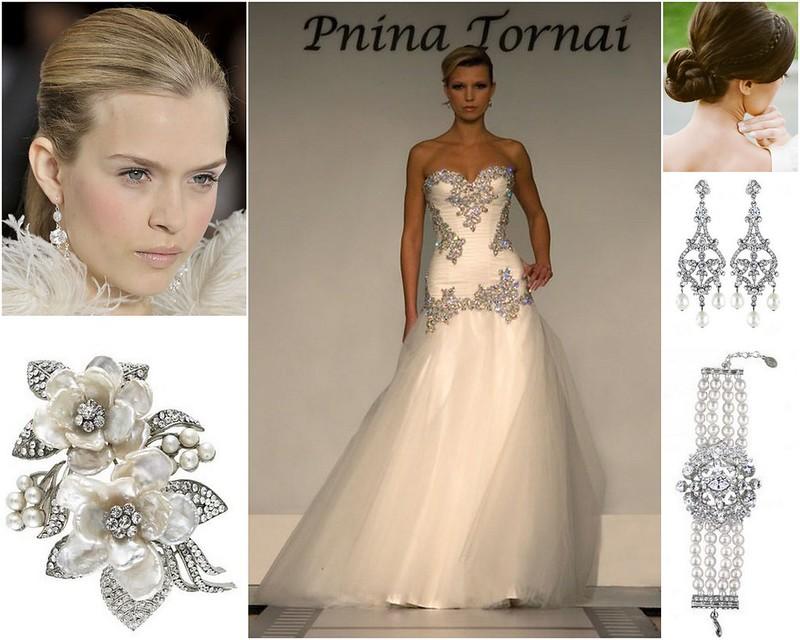 Glamorous and Fabulous Bridal Style! {Inspiration}