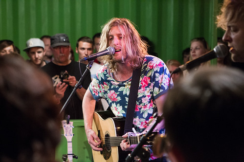 Andy Burrows rockte de 3 On Stage- sessie