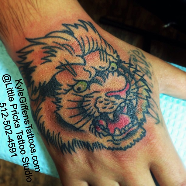 Lion hand kylegiffen tattoo austin texas bestink for Austin texas tattoo