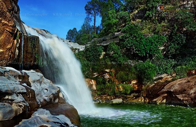 Gulpur Waterfall (Azad Kashmir).