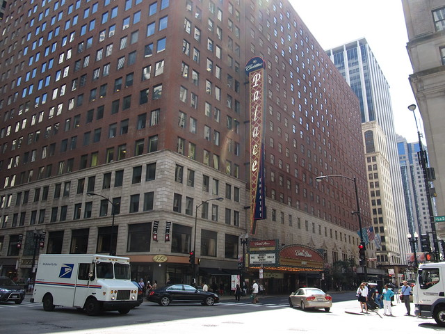 Cadillac Palace Theatre, Chicago Loop, Chicago, Illinois