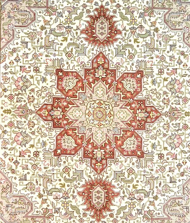 Tabriz Heriz Persian Area Rug