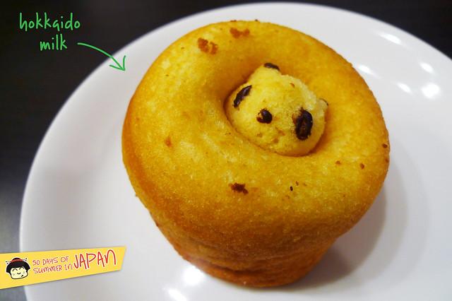 Panda Donuts - hokkaido milk flavor from Siretoco Donuts at Ueno Station