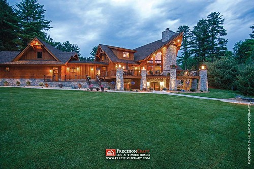 Exterior: Exterior Finishes: Your Log Home's First Impression