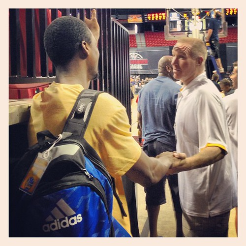 Chris Mullin, Harrison Barnes - 2013 NBA Summer League