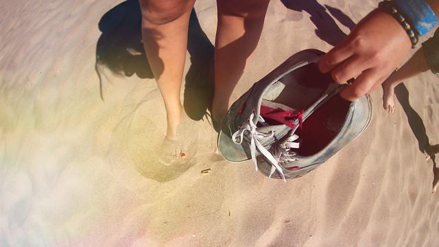 hiekkaa