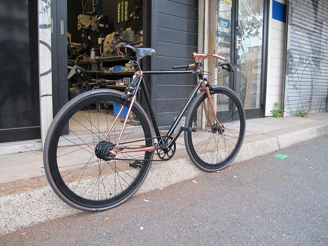 Mr.TMYM's Bronze plating custom bike