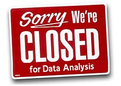 Closed for data analysis
