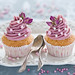 Rose cupcakes by The Little Squirrel