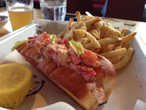 Cold Lobster Roll at Connie and Ted's