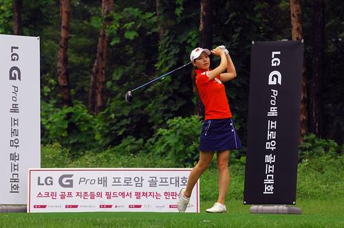 'LG G Pro배 프로암 골프대회' 결승전