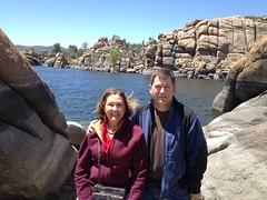 050 Lilian and Steve at Watson Lake