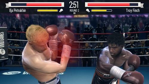 Real Boxing on PS Vita