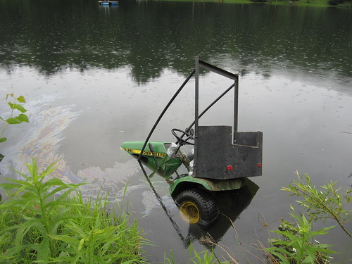 Tractor-in-the-pond incident