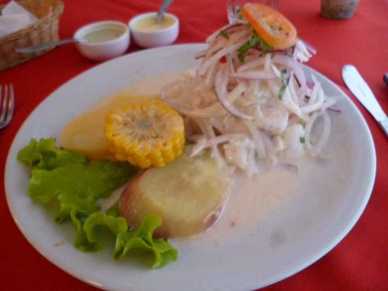 Cebiche from Chan Chan, Buenos Aires