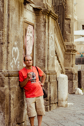 Hipster in Naples by Davide Restivo