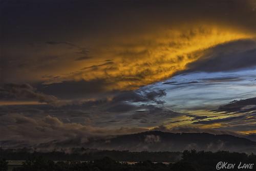 blue sunset orange mountains clouds airport nikon runway d800 ashevegas airportrunway ashevilleairport nikond800