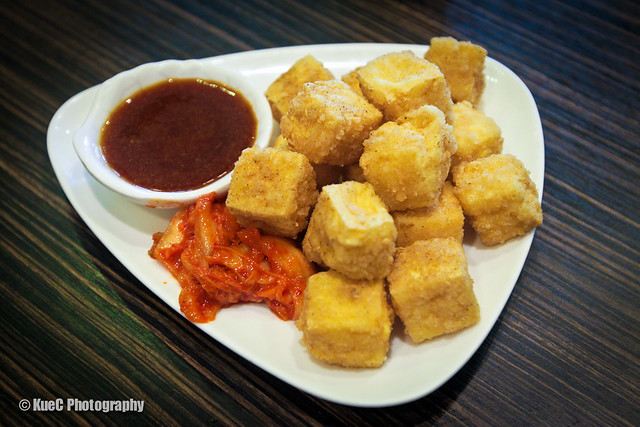 Pearl Castle: Fried Tofu - 炸豆腐