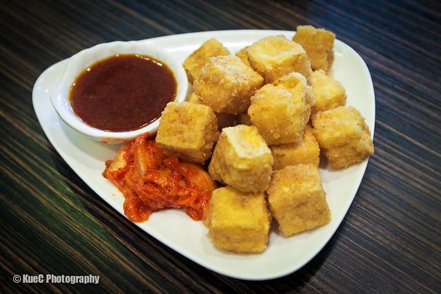 Pearl Castle: Fried Tofu - 炸豆腐