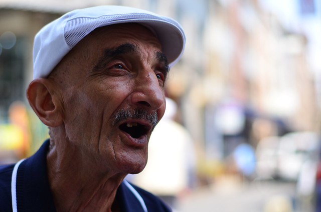 Llamada turca en Estambul de un hombre