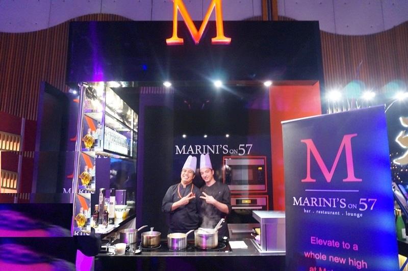 Marinis on 57 - MIGF menu