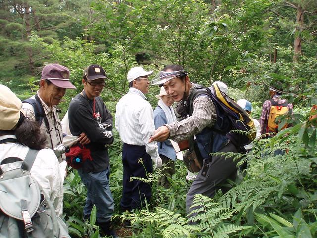 和田先生の軽快なトークにかかると植物の生態がおもしろくなってくる.