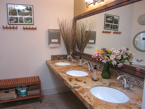 Bathroom at Treebones Resort