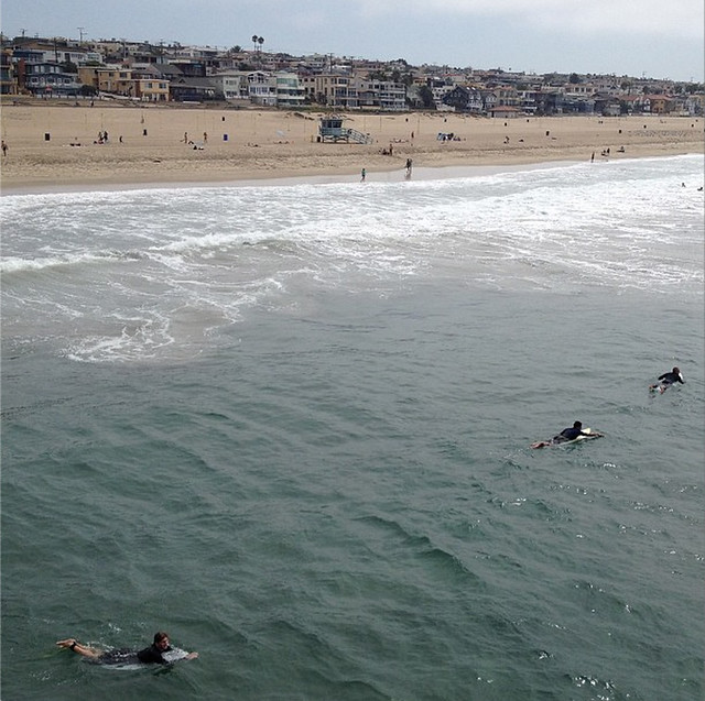 LA Manhattan Beach Surfers