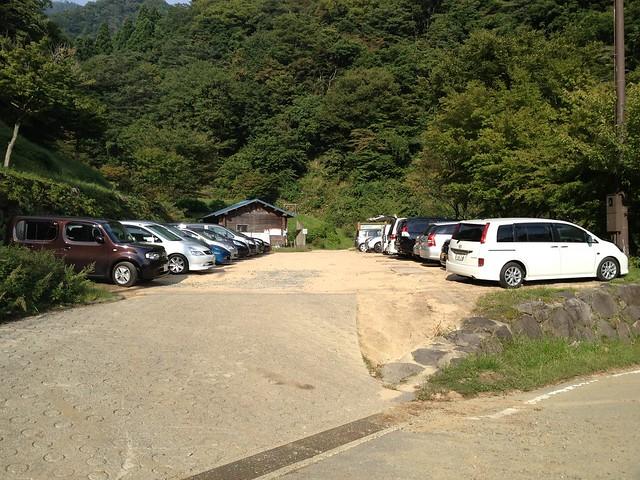 氷ノ山 福定親水公園 駐車場