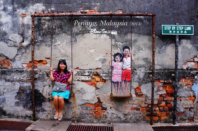 17. Penang's Art Street