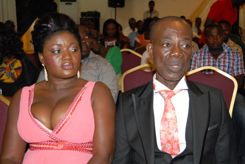 Mr & Mrs Acheampong,publishers of the Magazine