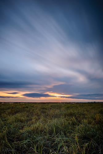 longexposure blue sunset orange stalbert grasslands