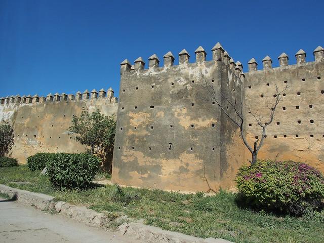 Fes的古城牆