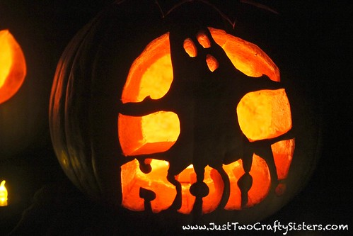Boo Ghost Pumpkin