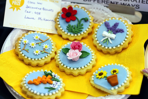 Perth Royal Show 2013 - Decorated Biscuits (Third Prize)